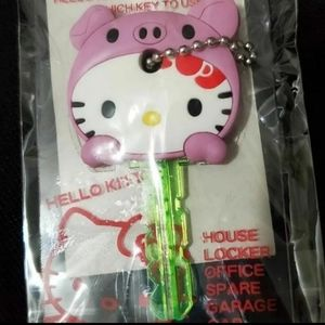 HELLO KITTY PIG KEY COVER
